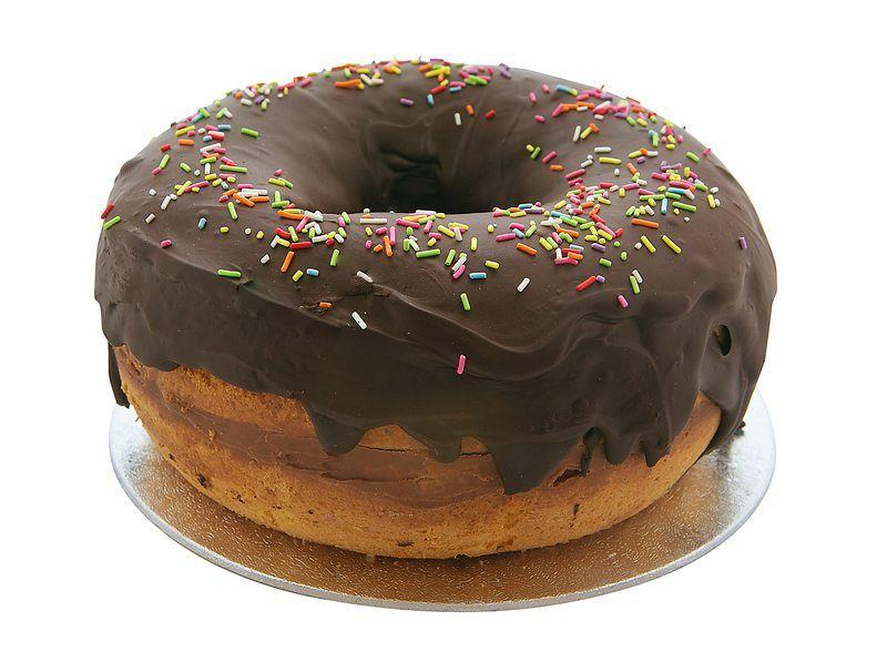 Gigantic Doughnut Cake