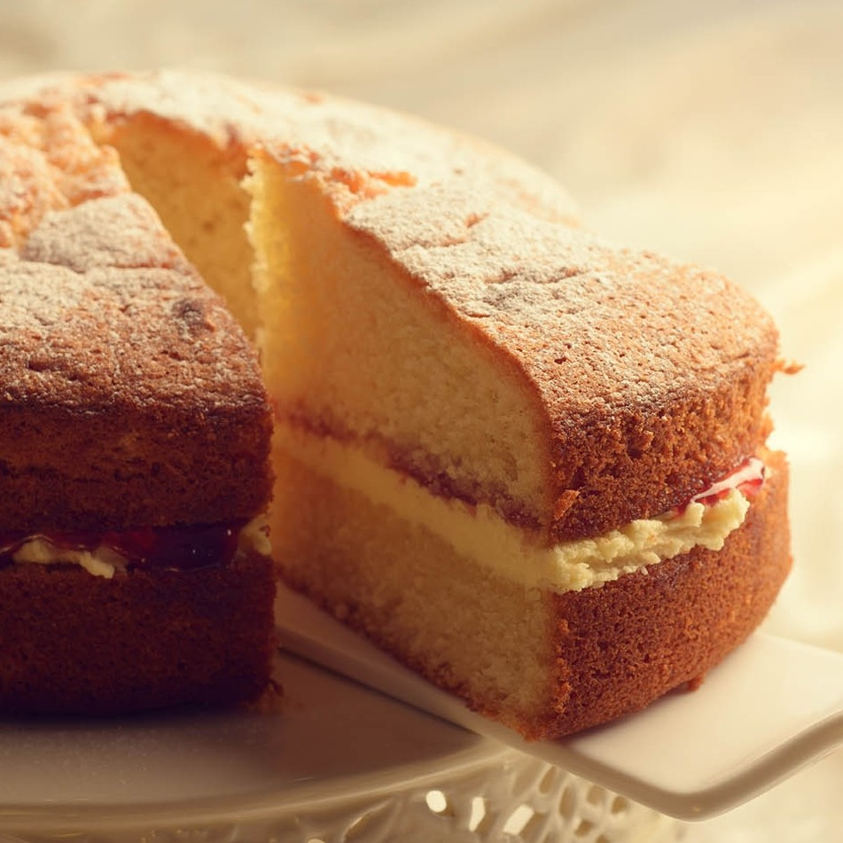 how to make sponge cake at home